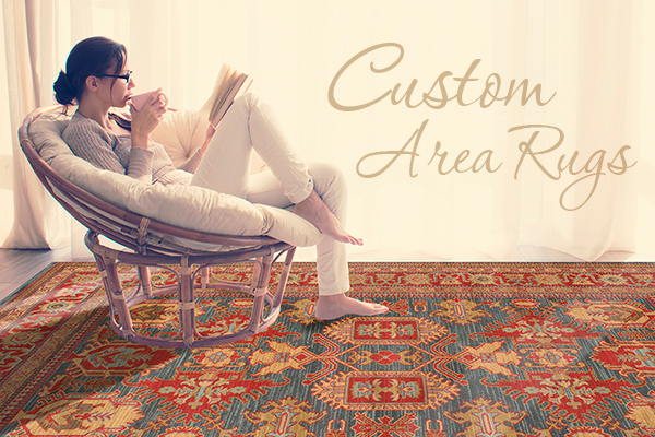 Abbey Carpet & Floor can create an area rug for you from any carpet stock in our inventory or catalogs