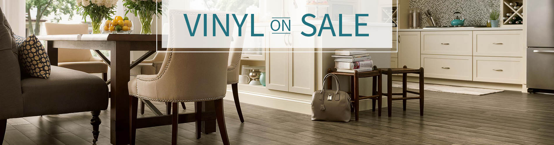 Luxury Vinyl On Sale Now! Visit our showroom for the hottest trends in flooring!